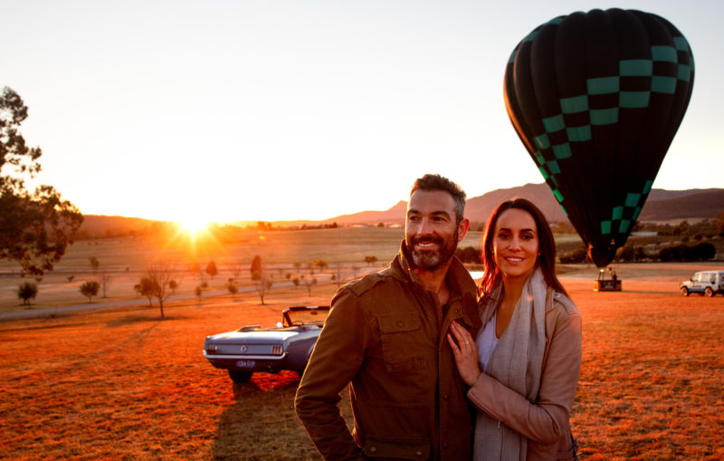 Balloon Aloft Hunter Valley - Image care of Destination NSW