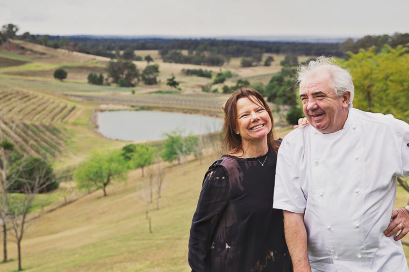 Robert & Sally Molines of Bistro Molines