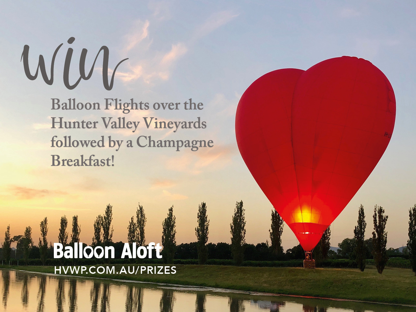 WIN Hot Air Balloon Flights with Balloon Aloft