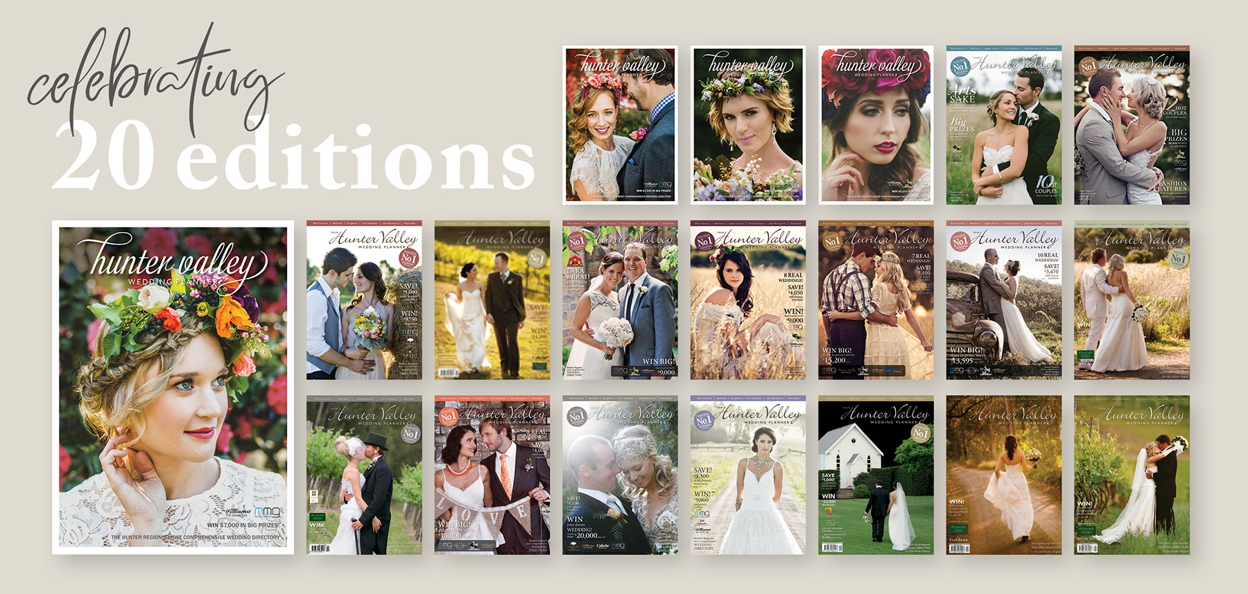 Celebrating 20 Editions - with 21st Edition now on sale!