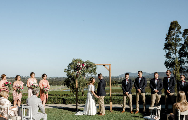 Estate Tuscany - Ceremony ( photo Lina Hayes)