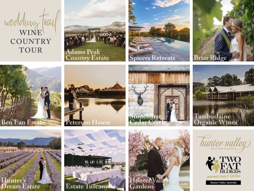Wedding Trail Wine Country Tour - Venues