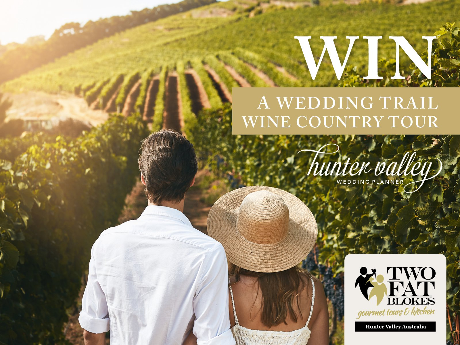 WIN! A Wedding Trail Wine Country Tour with Two Fat Blokes & HVWP Magazine