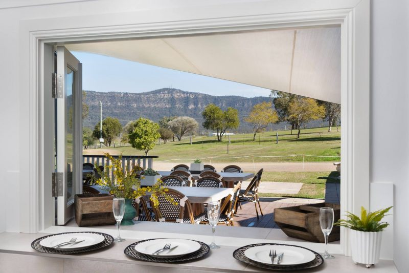 Willow Tree Estate - Dining with a view