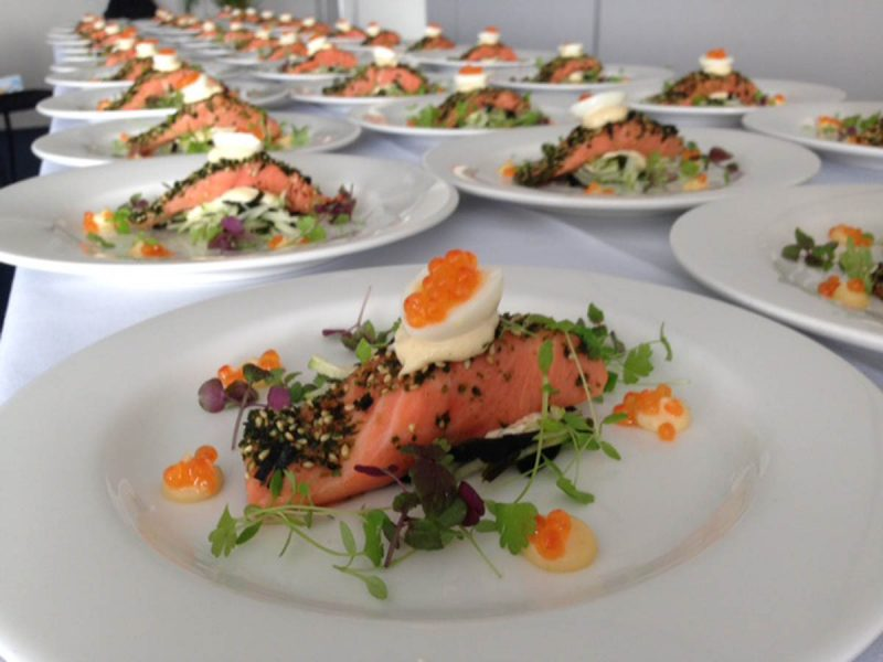 BLUE STAR CATERING AT FORT SCRATCHLEY