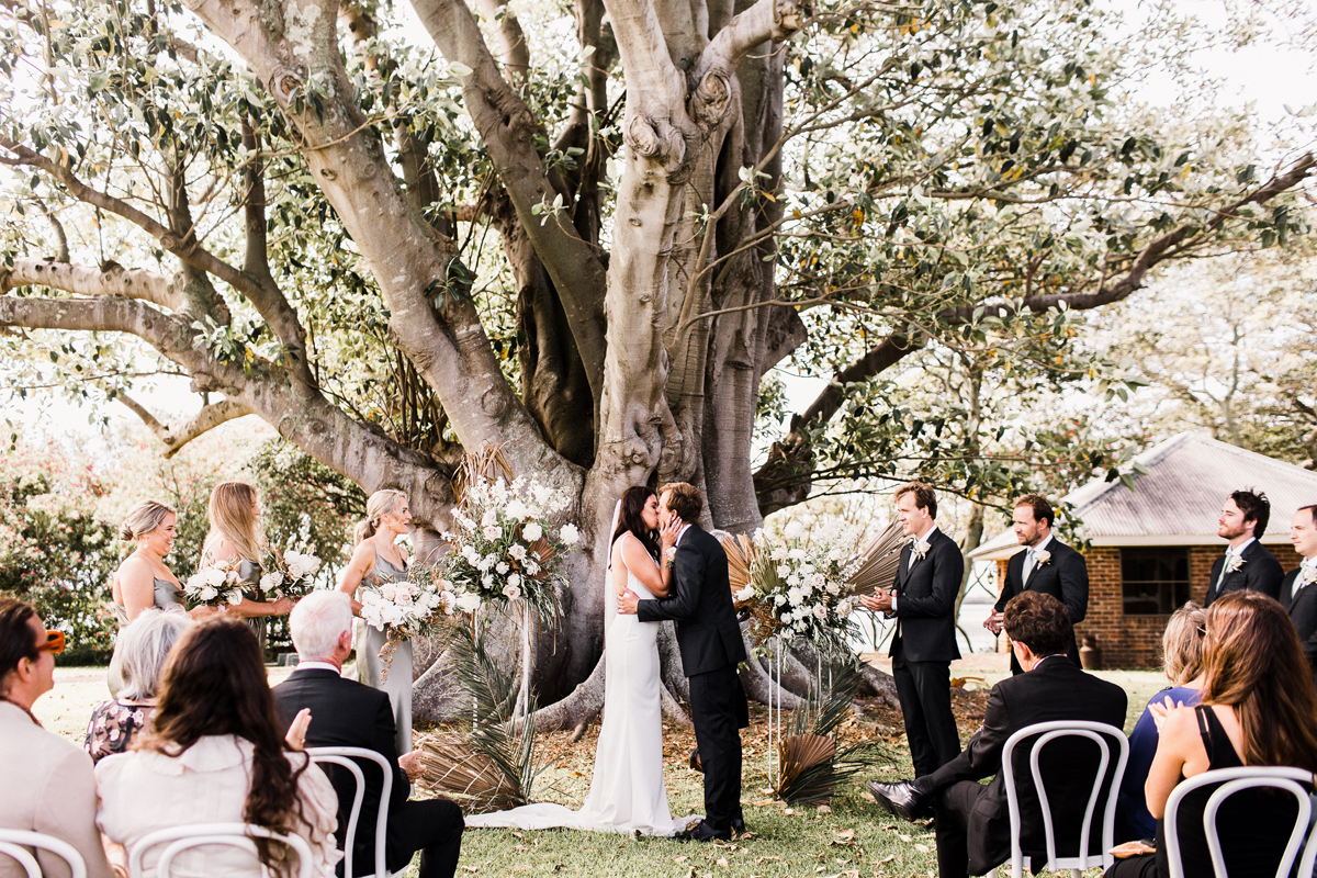 Hunter Valley Wedding Planner Magazine Real Wedding Stanley Park Josie and Michael